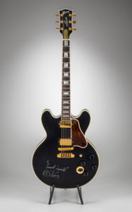 96′ Gibson Lucille Signed by BB King