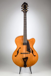 Comins Concert Model Archtop – 2002 Build Year