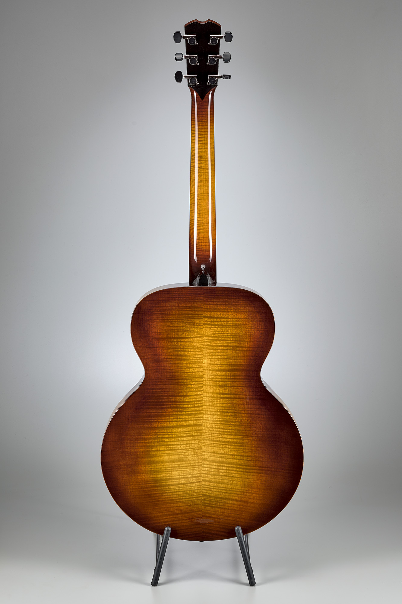 tim may carved top baritone acoustic dhr guitar experience. Black Bedroom Furniture Sets. Home Design Ideas
